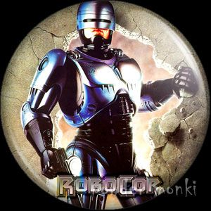 RoboCop - Retro Movie Badge/Magnet