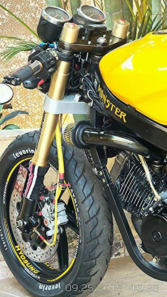 Hyosung Comet Gt 250 Cafe Racer Por Vitor Infante Custom Bikes