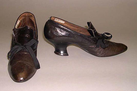Shoes  Date: 1900–1904   Culture: American   Medium: leather