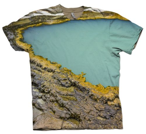 I love a landscape print tee