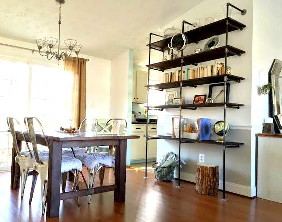 Industrial Pipe Shelves ||Reveal + Tutorial|| — StyleMutt - Your Home Decor Resource For All Breeds Of Style