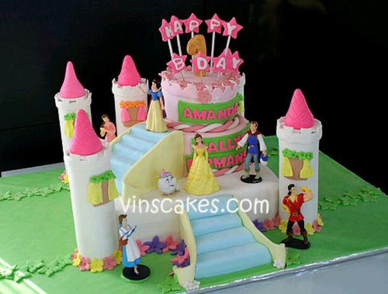 Princess cake..I like the stair placement
