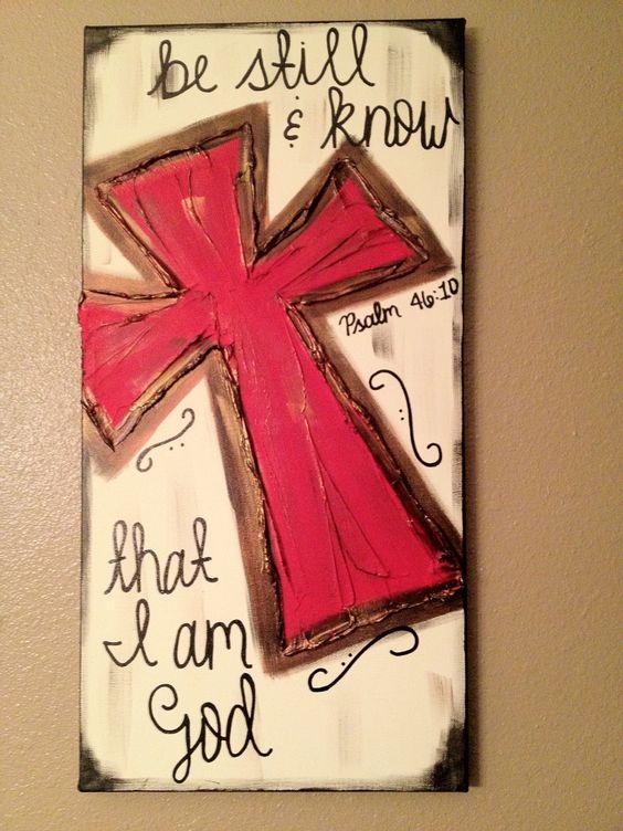 Be Still & Know that I am God..