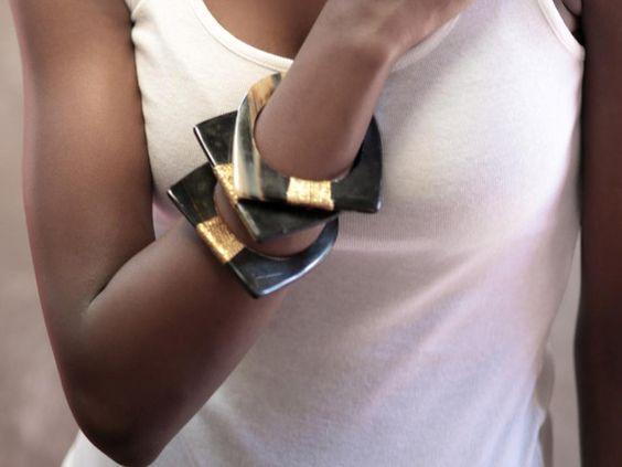 Kobbi Horn Bracelet by Adéle Dejak
