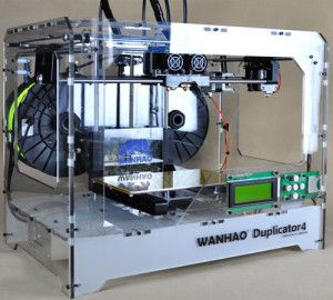 The Wanhao Duplicator 4 is standard delivered with a dual extruder and it's the most affordable dual extruder and fully assembled 3D printer on the market.