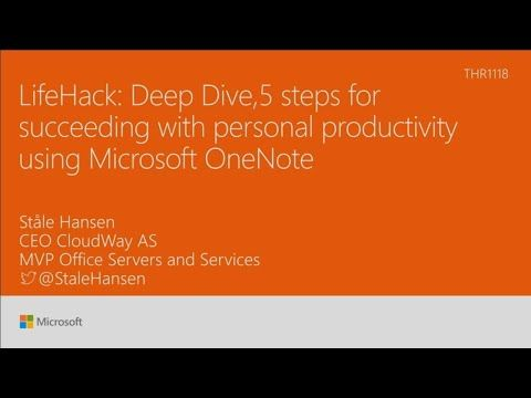 Lifehack Deep Dive With 5 Steps For Succeeding With Personal Productivity Using Microsoft Youtube Herbalism Benefits Of Organic Food Organic Recipes