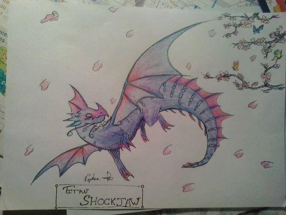 Titan Shockjaw Dragon