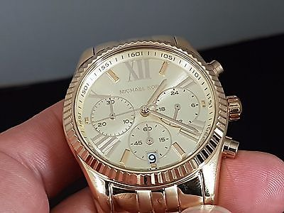 NEW MICHAEL KORS MK-5556 CHRONOGRAPH 24 HOURS DUAL TIME DATE QUARTZ UNISEX WATCH https://t.co/nRinhqg2Gm https://t.co/zvcvqWSKwx