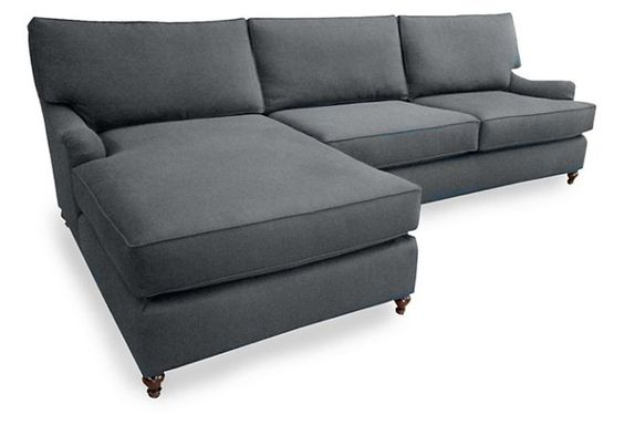 Caroline Sectional, Gray