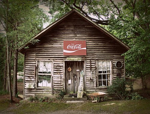 """in-north-carolina:    """"The old Storehouse at Murrays Mill, Nash County, NC,"""" via."""