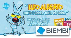 BIEMBI CONTEST  WOOI® realizza il secondo Contest Fotografico di BIEMBI su Facebook, dedicato a Lupo Alberto.