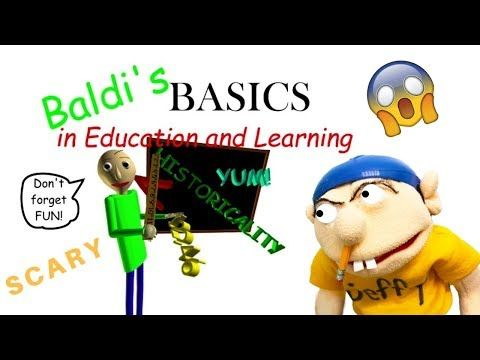 Jeffy Plays Baldi S Basics In Education And Learning Youtube