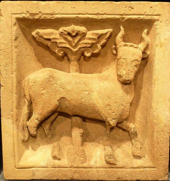 Romanesque Zodiac - Taurus Rheinisches Landesmuseum Bonn, Germany