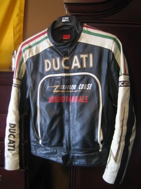 Ducati Old Times Leather Jacket