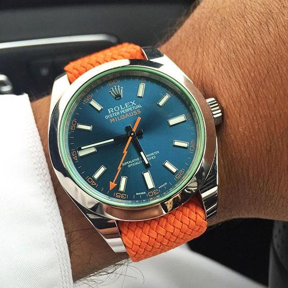Rolex milgauss strap options for Rolex milgauss