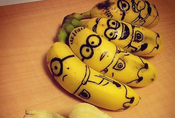 Les Minions de Moi, moche et méchant version nourriture !