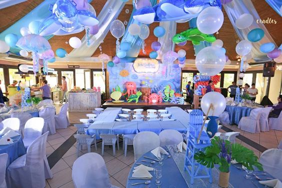 Kai's Under the Sea Themed Party - Ceiling
