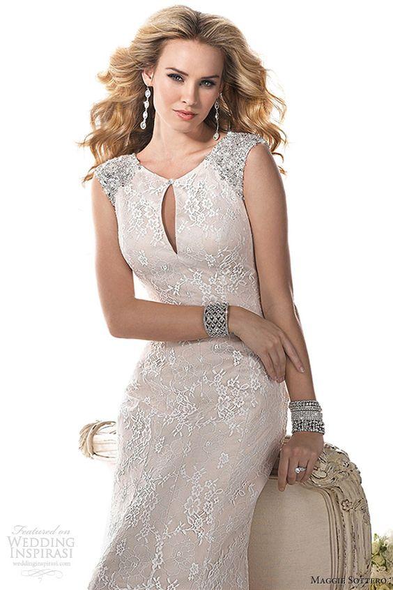 maggie sottero fall 2013 ellie wedding dress
