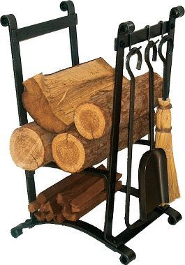 Cabela 39 s compact log rack with tools cabin decor for Cabela s tackle craft catalog