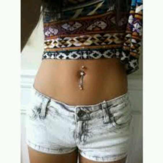 Convincing my father of a bellybutton piercing?