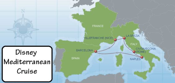 Everything you need to know about taking a Disney Mediterranean Cruise