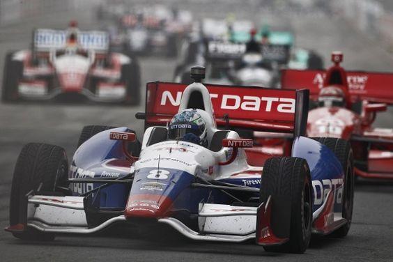IndyCar Kanaan NTT Data 2015