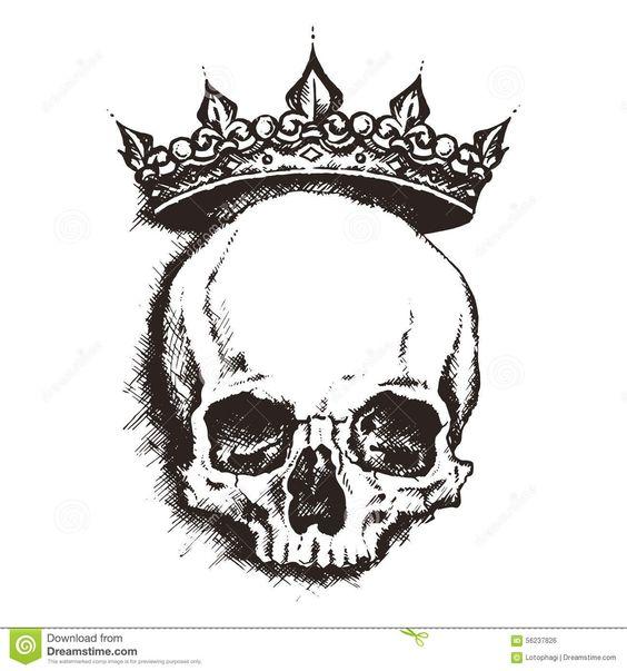 Skull. Engraving Style. Vector Illustration. Stock Vector - Image ...