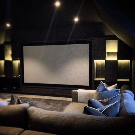 Home Theater Design Ideas Home Theater Masters: Pinterest: @ Blvckswede