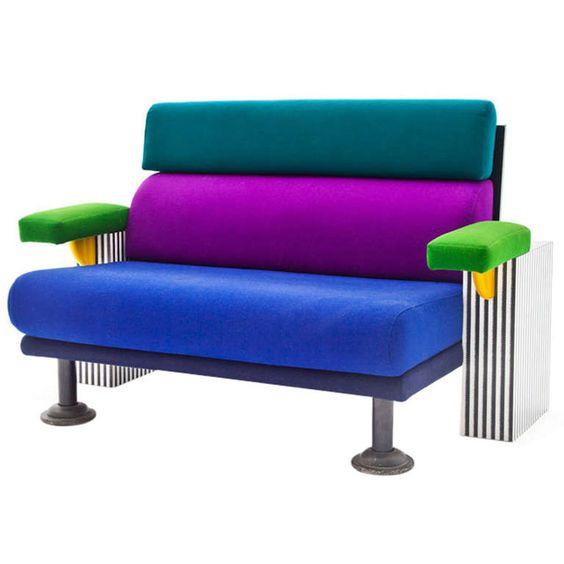 Memphis, Italy And Modern Sofa On Pinterest