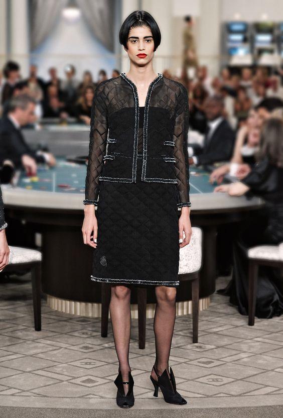 صور أزياء Chanel 2016 للأزياء الراقية خريف وشتاء 2016 Fashion Haute Couture Looks Couture Designers