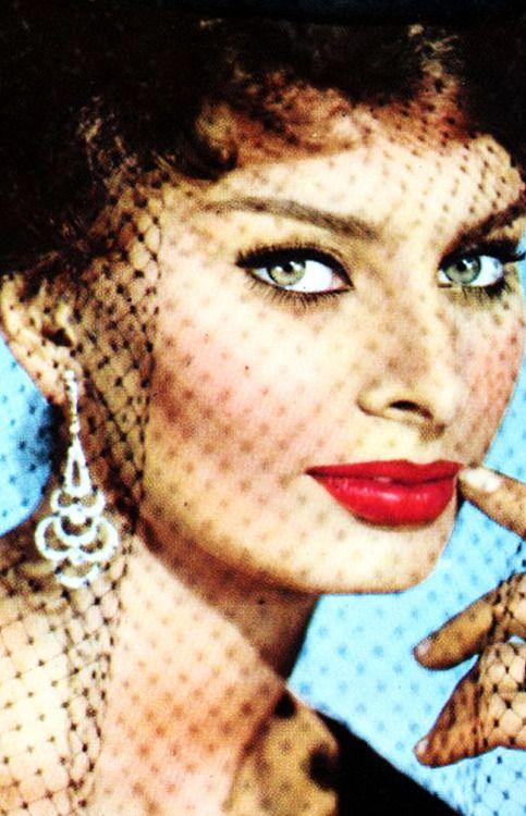 Sophia Loren, goddess: