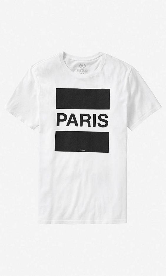 Paris Graphic Tee | Express
