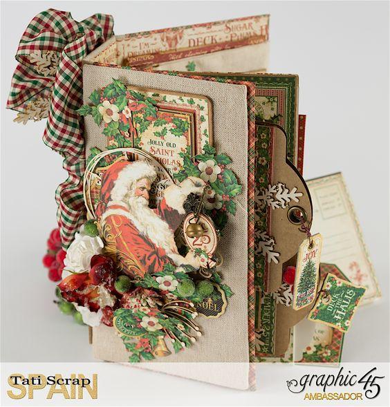 Tati, St Nicholas Album, Product by Graphic 45. www.tatiscrap.com