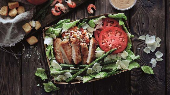 Salat und Quinoa bei McDonald's
