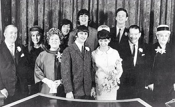 Ringo Starr and Maureen Cox's Wedding