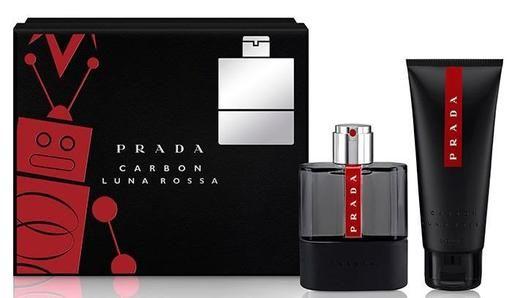 Prada Luna Rossa Carbon Estuche Perfume Perfumes Hombre Perfumeria
