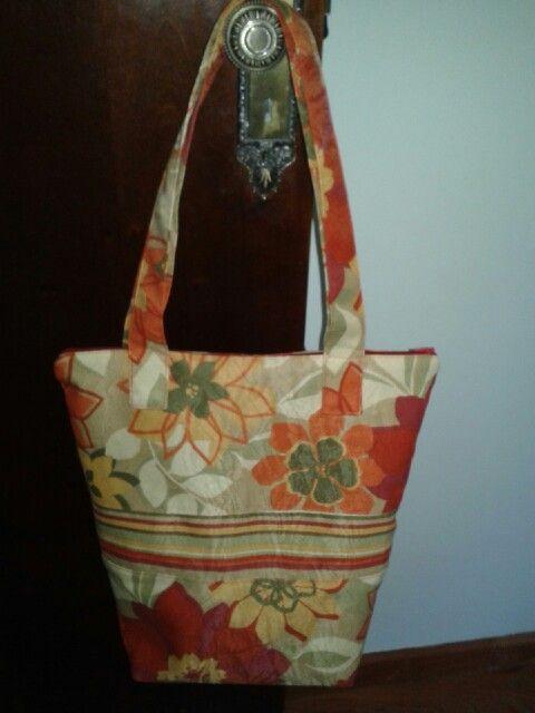 Bolsa sacola feito por  mim