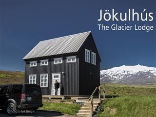The Glacier Lodge; in Hellnar, near Arnastapi.