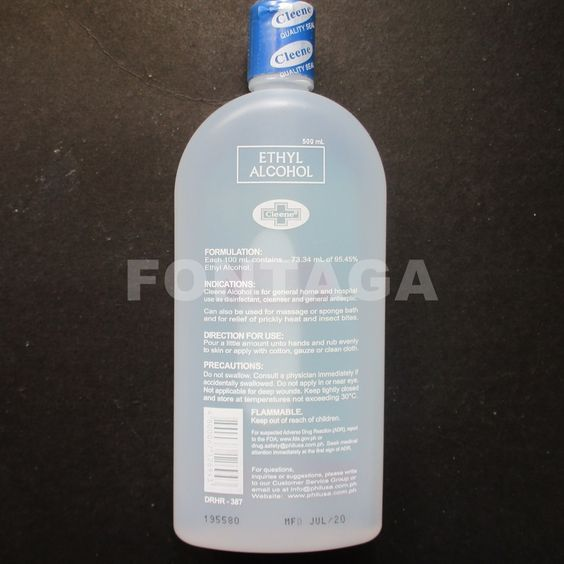 Buy CLEENE 70% SOLUTION ETHYL ALCOHOL 500mL | Fontaga