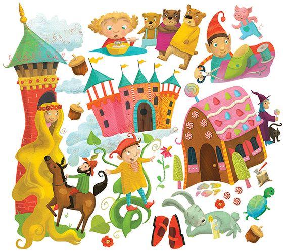Laura Watson Illustration Children's book illustrator more at www.w-illo.com/portfolio