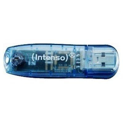 Intenso 3502450 Lápiz USB Rainbow line 4GB Azul