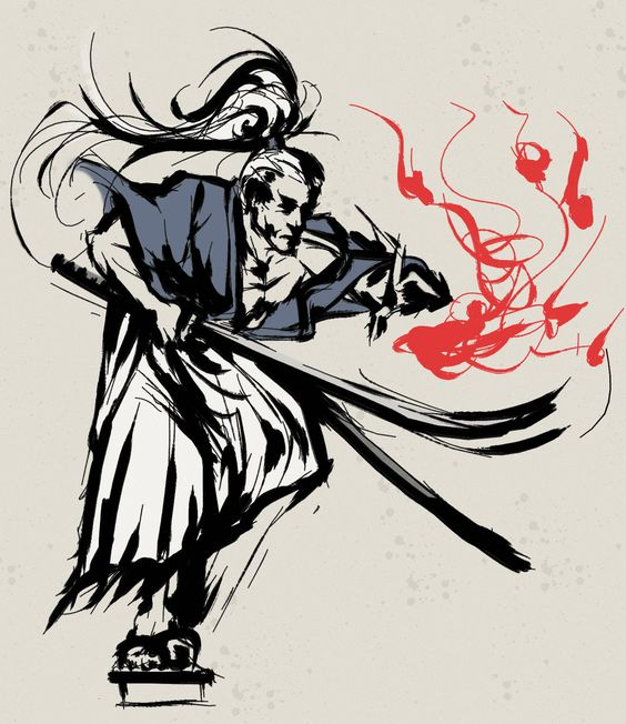 Sumie, técnica de dibujos japoneses