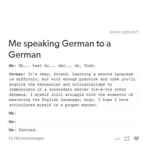 How do I memorise my German Speaking essay for tomorrow?