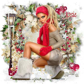 Winter/Kerst 2 - Josie's PSP Lessen | ꧁Josie's Psp ...