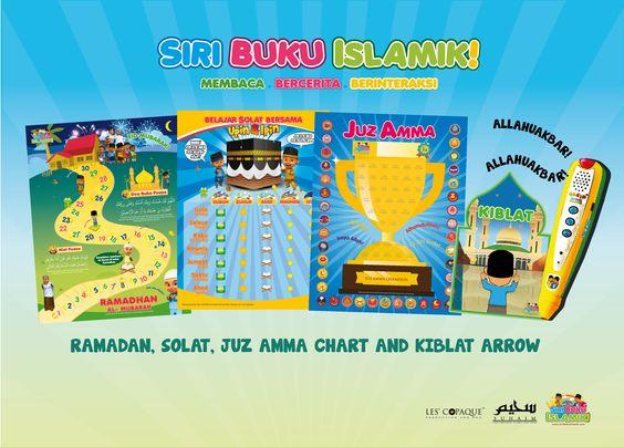 Fun way to Learn with Upin and Ipin!  www.siribukuislamik.com