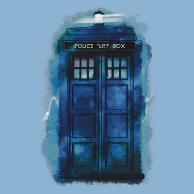 Love this TARDIS art.
