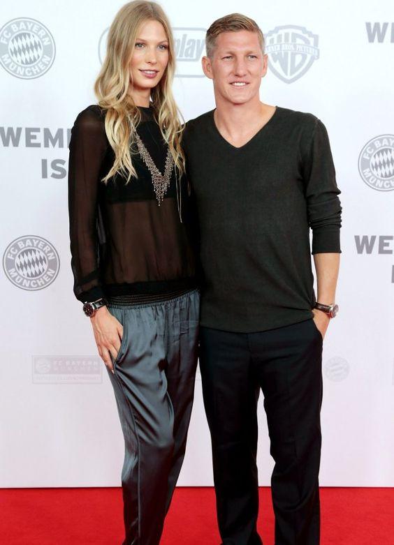 Model Sarah Brandner und Bayern-Star Bastian Schweinsteiger geben seit 2007 überall eine gute Figur ab.
