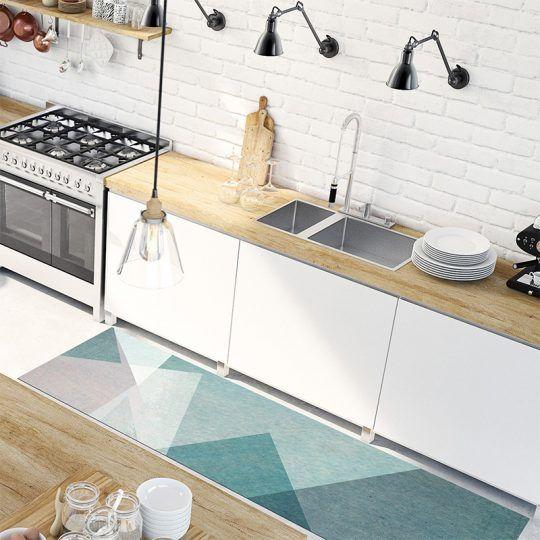 Alfombra vinilica de diseño para interior y exterior Envío