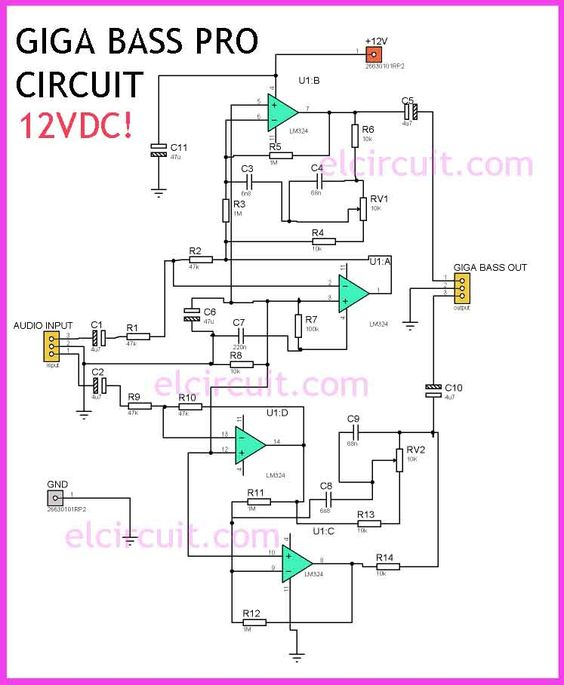 Low Pass Filter and High pass filter circuit diagram Audio - ics organizational chart