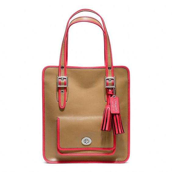 Shop Coach.com to see our full line of tote and business bags